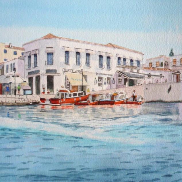 Dapia Harbour Spetses