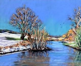 Winter walk Wisley