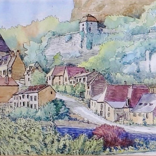 Rocamadour in the Dordogne