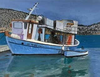 Greek Fising Boat