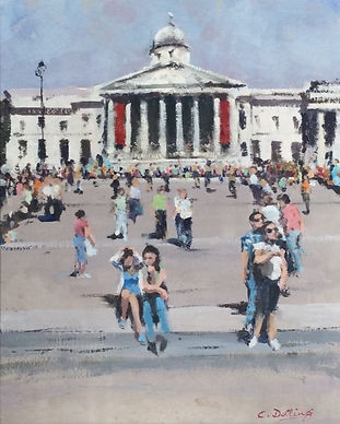 CD06-Steps_of_the_National_Gallery-_oil-