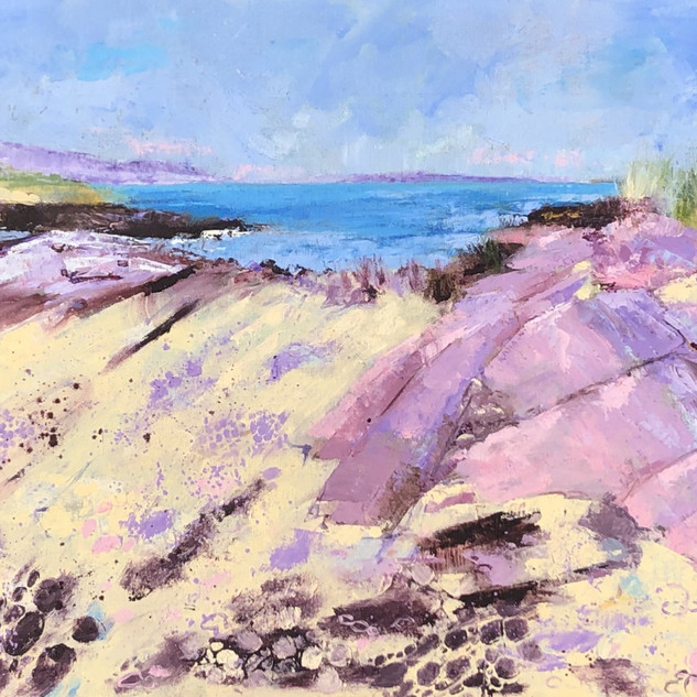 Sally Pestridge-Pink Rocks