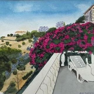 Balcony scene Spetses