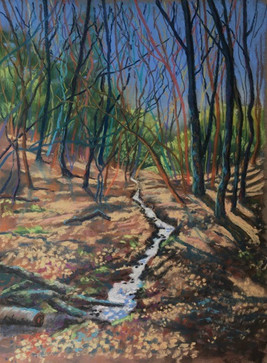 """GS02-""""Walking to Leith Hill.jpg"""