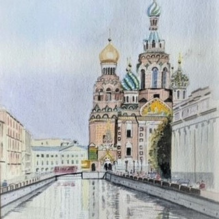 Church of th Spilt Blood Russia