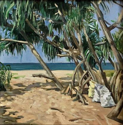 Rathgama beach
