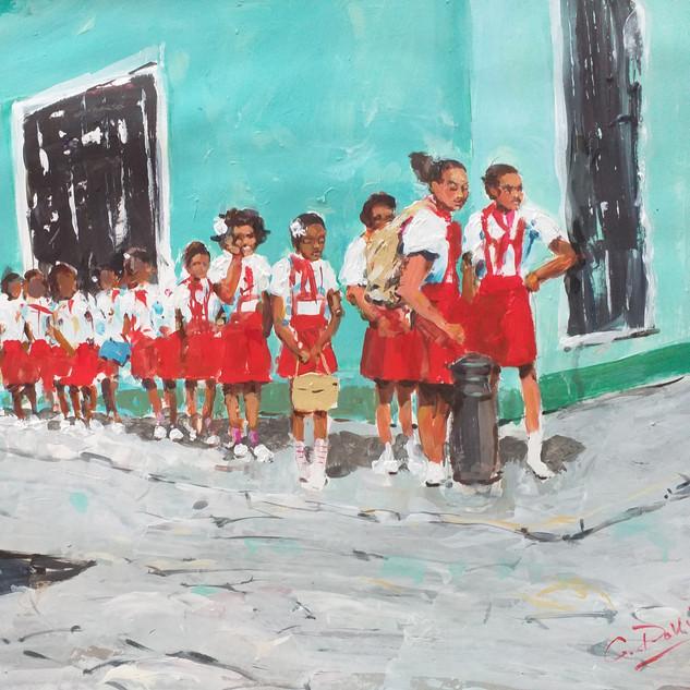 School outing, Santiago de Cuba