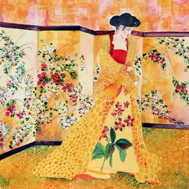 Klimt Lady
