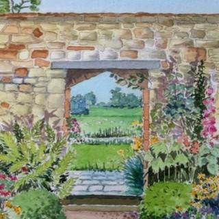 Broughton Castle Garden