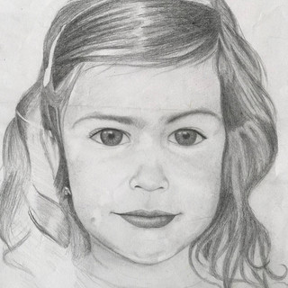 Portrait study of Ellise