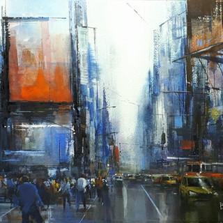 Brendan Smith- City Life, Time Square