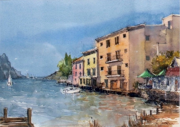Lake Garda waterfront
