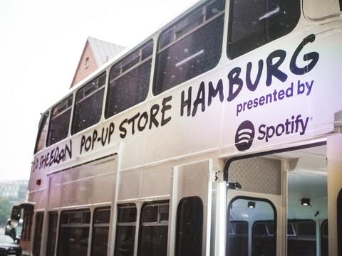 spotify listening session @ warner music