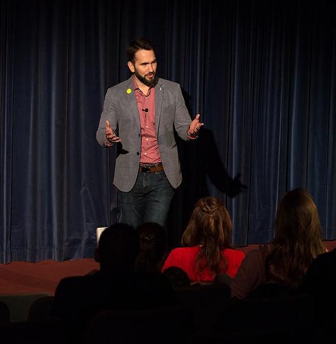 Public Speaking Coach Jose Ucar