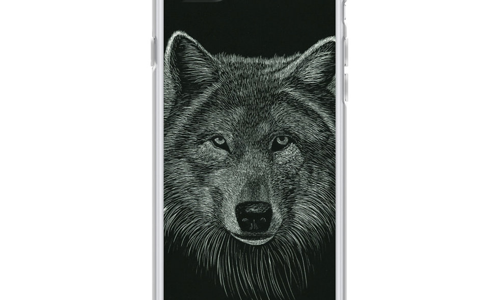 iPhone Case Original Wolf Image