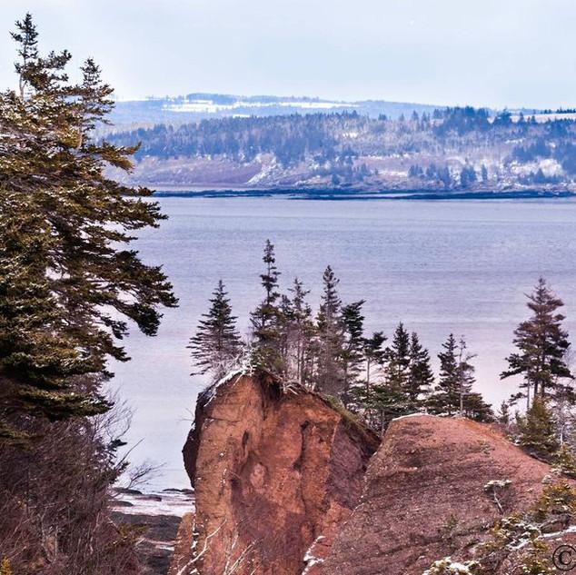 Red Rocks In Winter