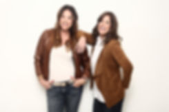 Jenny and Karen tan jackets.jpg