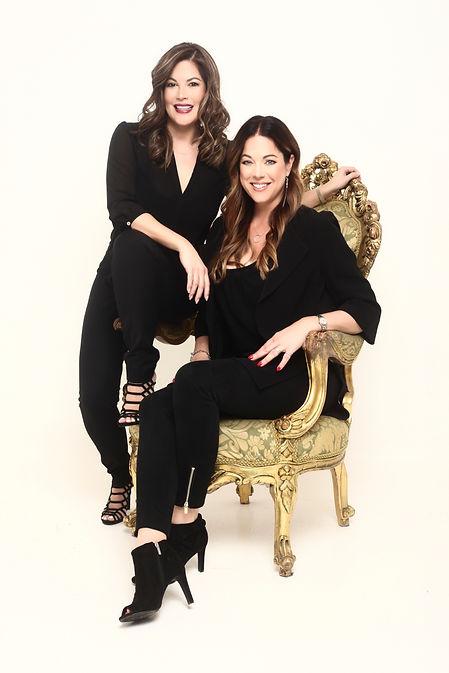 Jenny and Karen on the throne.jpg