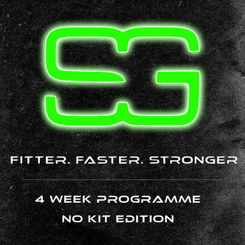 Fitter. Faster. Stronger. | 4 Week Programme | No Kit