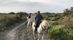balade cavalière Camargue