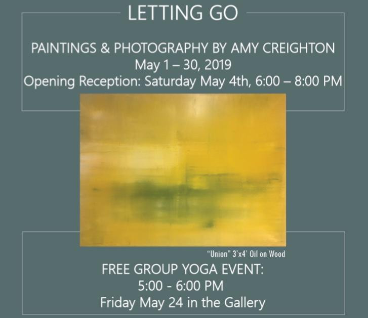 Invitation from Letting Go Exhibition 2019