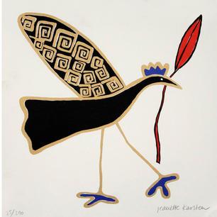 """Joyful Bird with a happy message"""