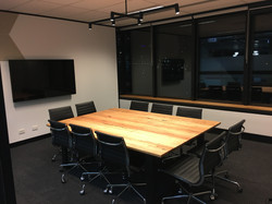 QTAC Meeting Room Blackbutt With Black L