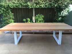 Tasmanian Oak White Powder Coated