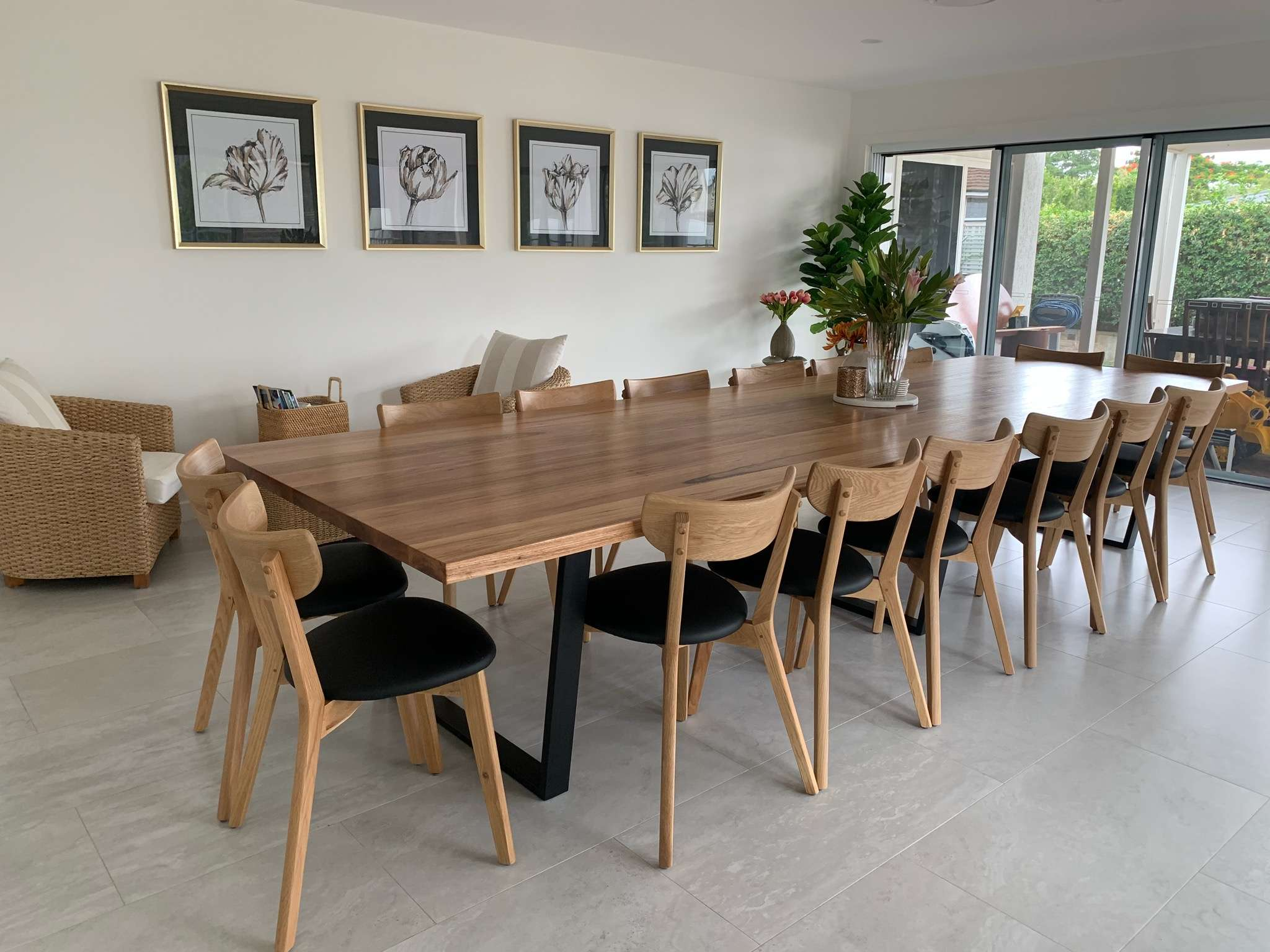 4 Metre Blackbutt Dining