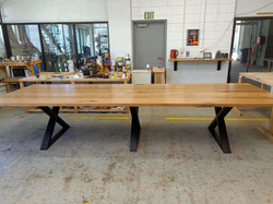 Blackbutt Triple X Board Table