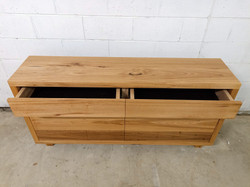 Blackbutt Credenza 2 Drawer