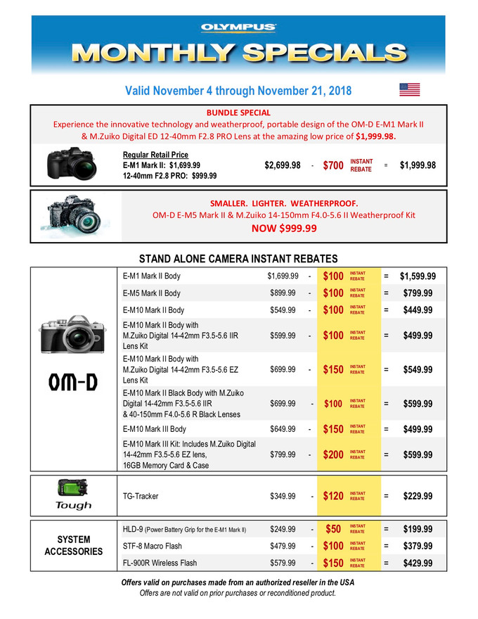 Valid Nov 4th - Nov 21st