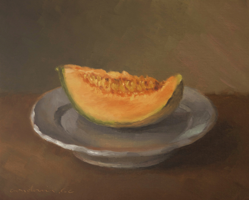 La tranche de melon