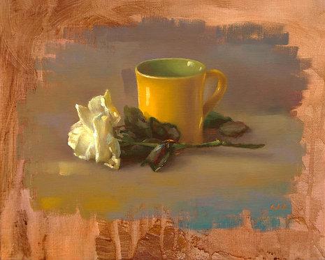 Le mug jaune, JC Gondouin
