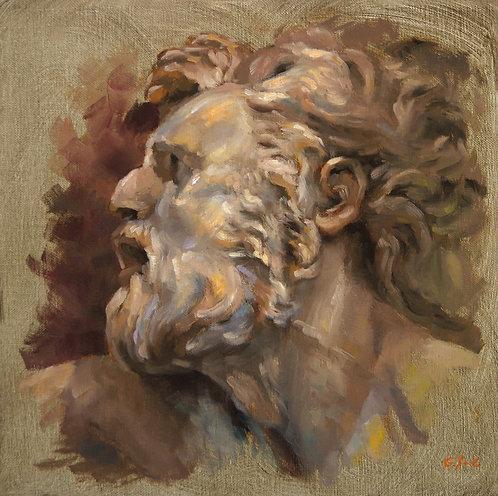 D'après un bas-relief de Puget, JC Gondouin