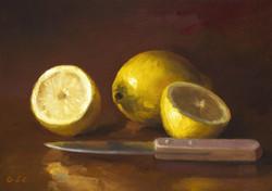 Citron coupé