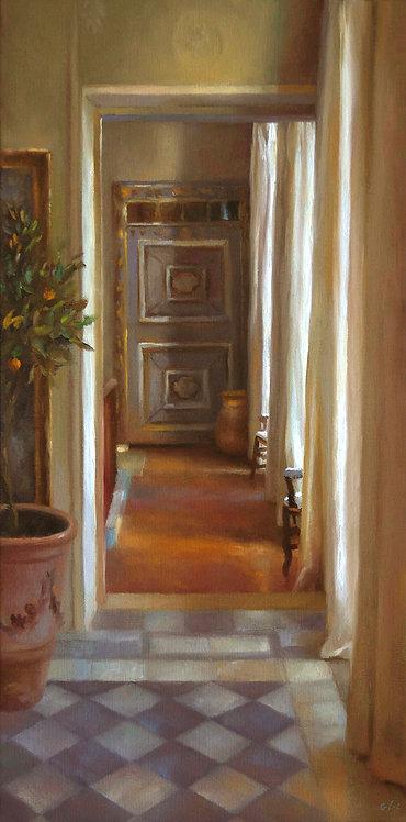 La porte bleue, JC Gondouin