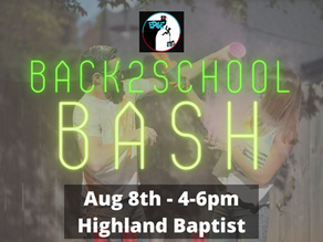 BACK-to-SCHOOL BASH - EDGE Students
