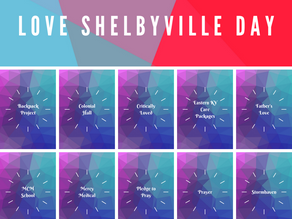 Time to LOVE SHELBYVILLE! (October 24, 2021)