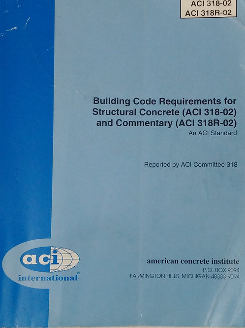 Building Code Requirement For Structural Concrete By ACI