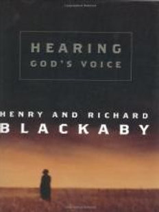 Hearing God's Voice by Henry and Richard Blackaby