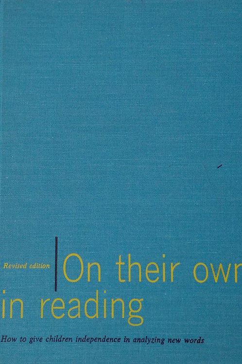 On their own in Reading Revised Edition By Scott Foresman