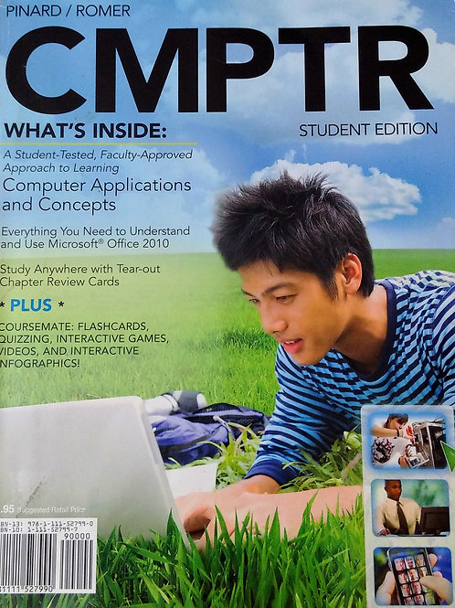 CMPTR By Pinard/Romer Student Edition