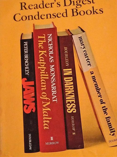 Readers Digest Condensed Books Volume 2-1974