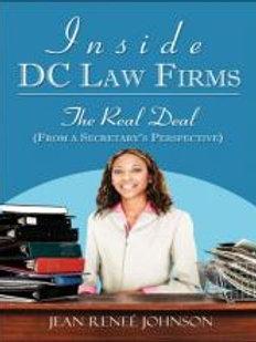 Inside DC. Law Firms by Jean Renee Johnson