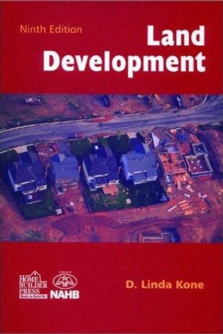 Land Development Ninth Edition by D. Linda Kone