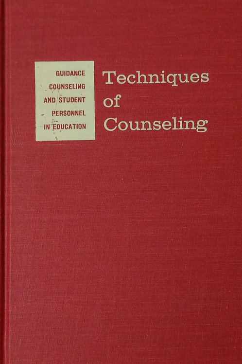 Techniques of Counseling Second Edition by McGraw Hill