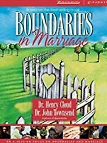 Boundaries in Marriage by Dr. Henry Cloud and Dr. John Towsend