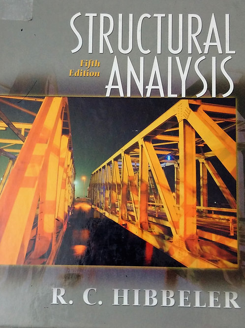 Structural Analysis Fifth Edition by R.C. Hibbeler