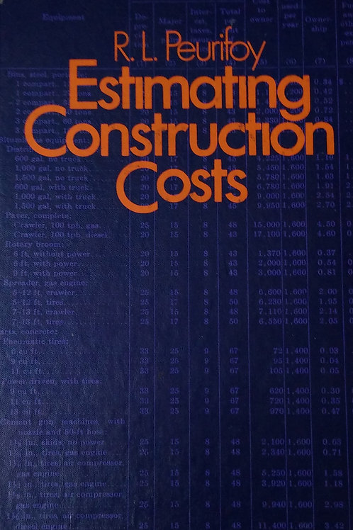 Estimating Construction Cost by R.L. Peurifoy